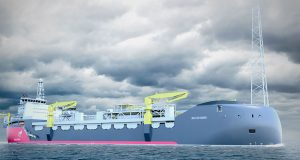 The Bay du Nord FPSO to be located in the Flemish Pass Basin, some 480 km offshore St. John's, Newfoundland and Labrador. (Photo credit: Equinor)