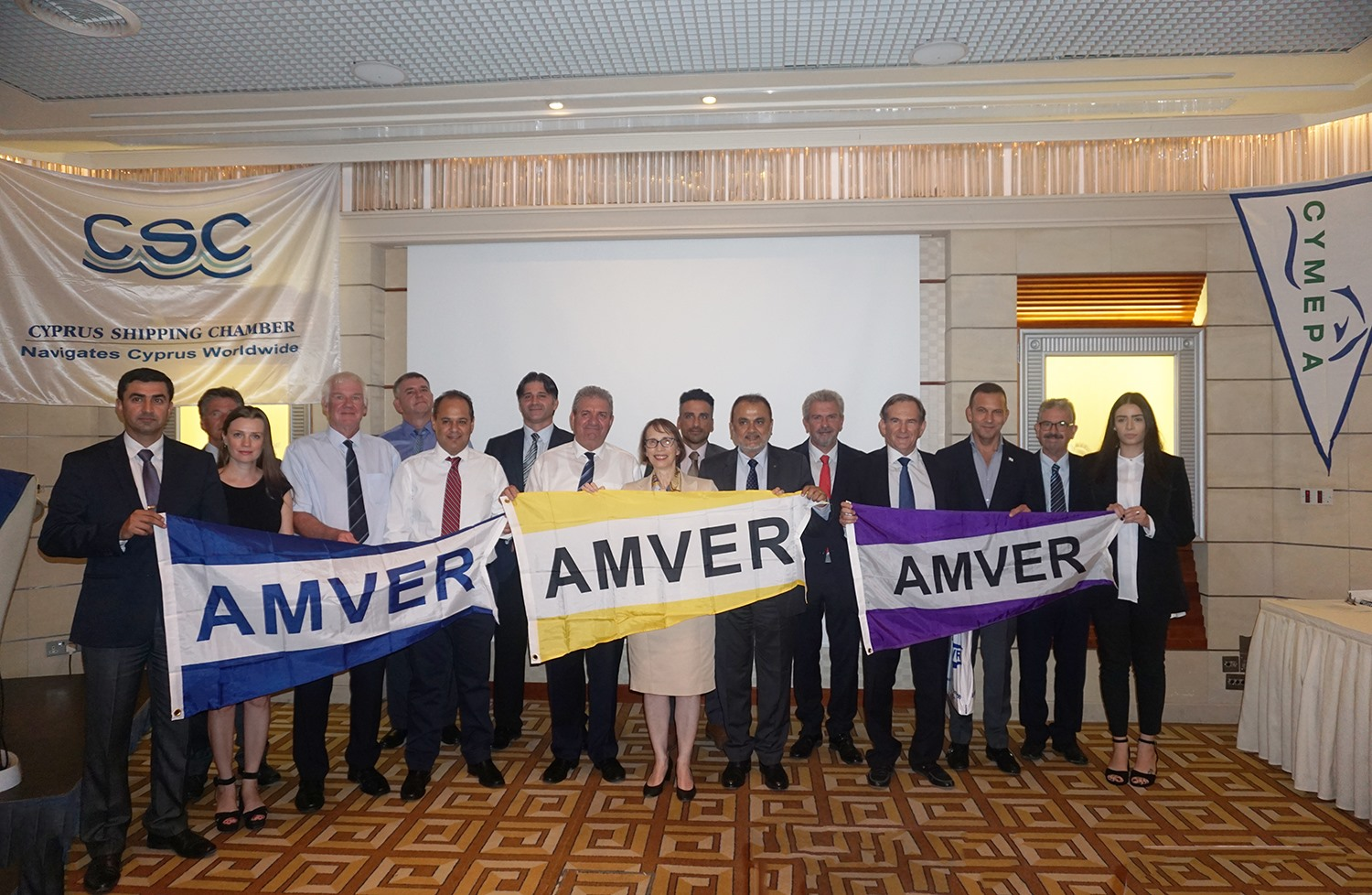 Columbia Shipmanagement AMVER Awards