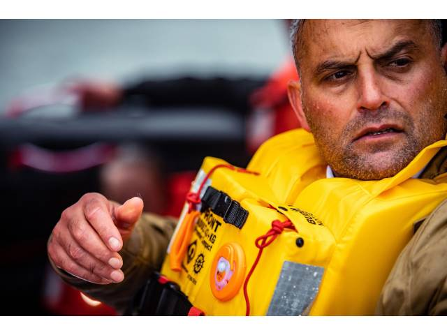 Lifejackets with 150 Newton buoyancy help ensure the wearer floats in a safer position high above the waves