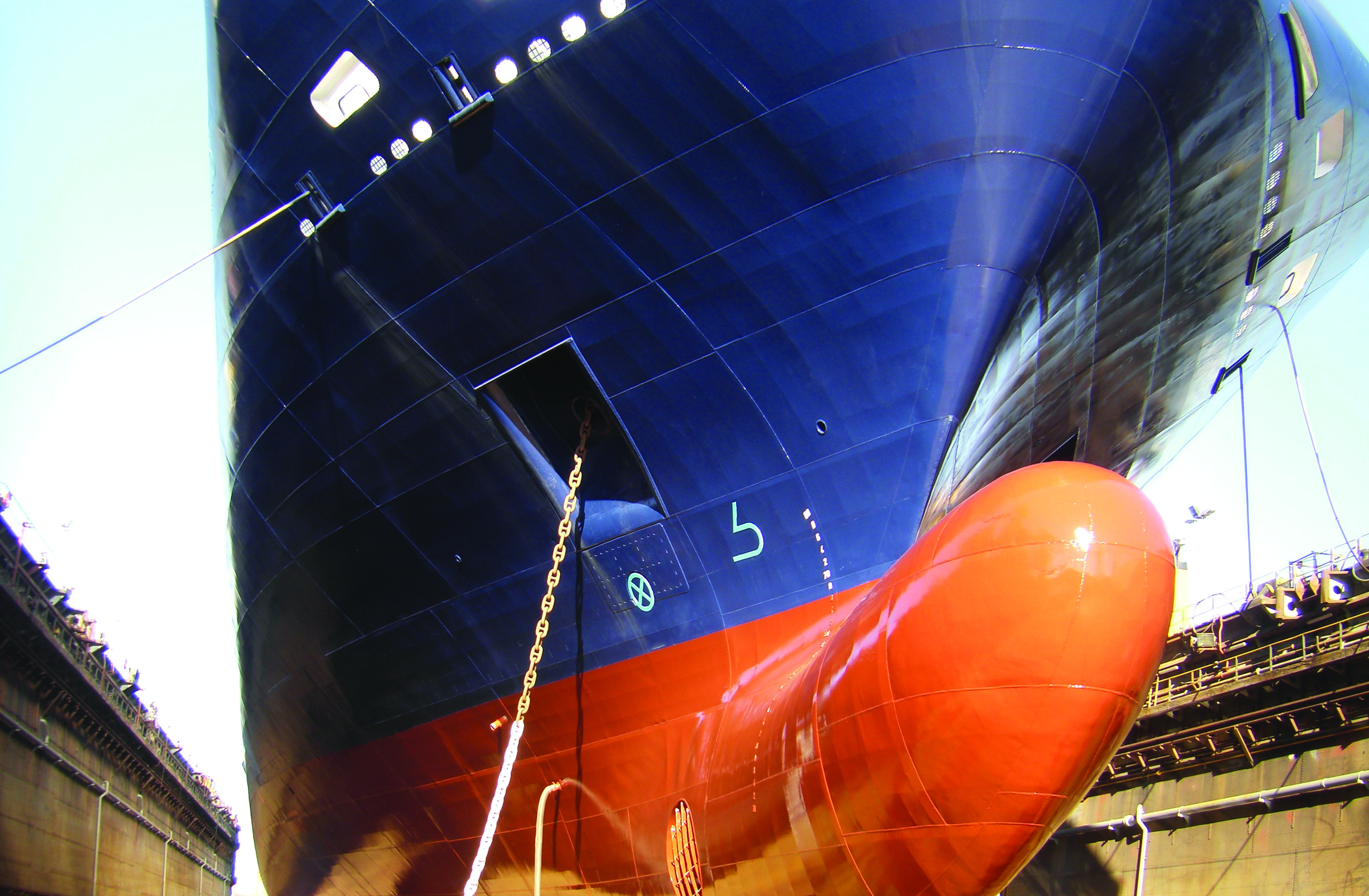 The study used the hull performance analysis methodology developed by DNV GL to analyze the performance of various major vessel types, including LNG carriers, bulk carriers, crude oil tankers and cruise vessels.