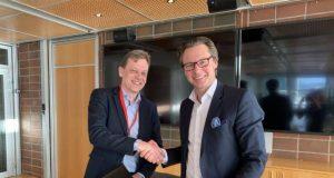 Roger Holm, President, Wärtsilä Marine and Knut Ørbeck-Nilssen, CEO, DNV GL – Maritime