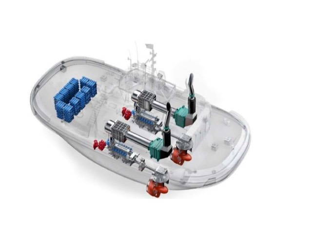 The HydroTug, the world's first hydrogen-powered tugboat, is developed by CMB.TECH and will be delivered to the Port of Antwerp in 2021.The HydroTug, the world's first hydrogen-powered tugboat, is developed by CMB.TECH and will be delivered to the Port of Antwerp in 2021.