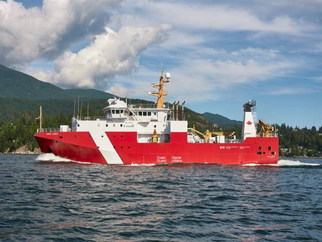 Wartsila Delivers Low Noise Propulsion Solutions For Canadian Coast Guard Research Vessels Cyprus Shipping News